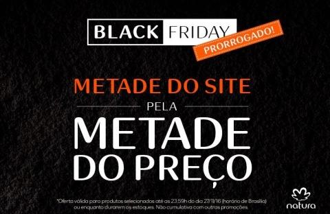Black Fridat Rede Natura prorrogado!
