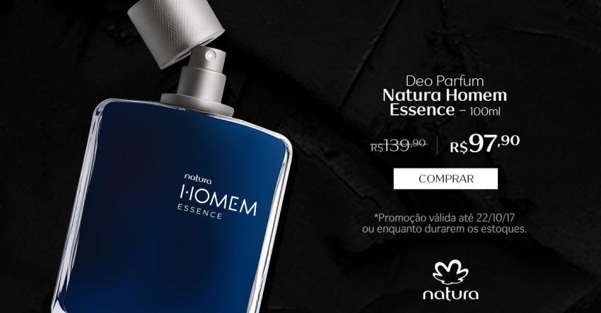 Natura Homem Essence Promocao Natura Esquenta Black Friday de 16 a 22 out no Rede Natura Espaco Carolina do Valle